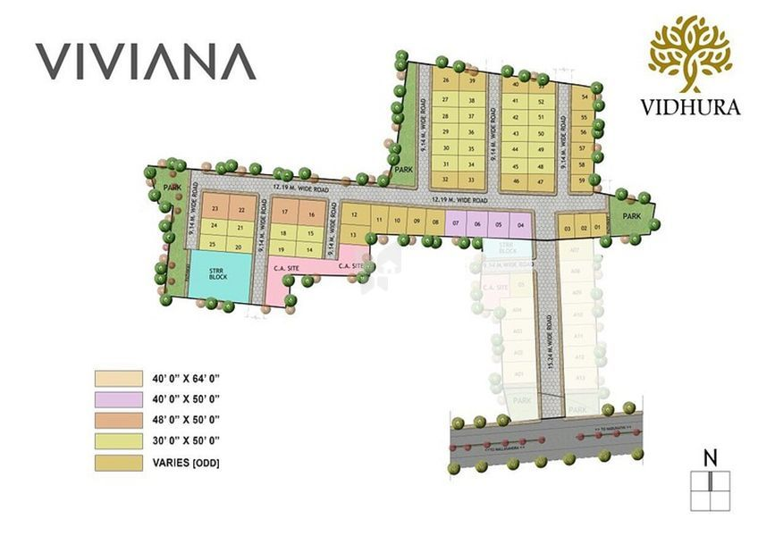 Vidhura Viviana - Master Plans
