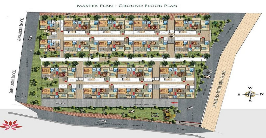 Sanas Thirumala Nagar - Master Plans