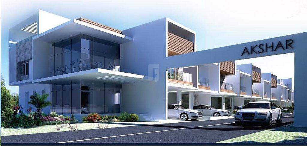 VRB Akshar Twin Villas - Elevation Photo