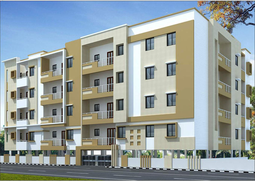 RVS Jaya Madhava Commune - Elevation Photo