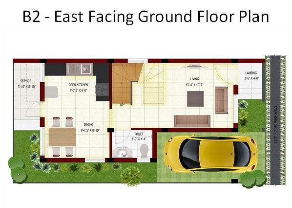Top Of Bottom Floor Elevation Certificate : Dual flowers in padur chennai price floor plans