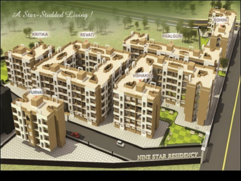 Nine Star Residency Revati - Project Images