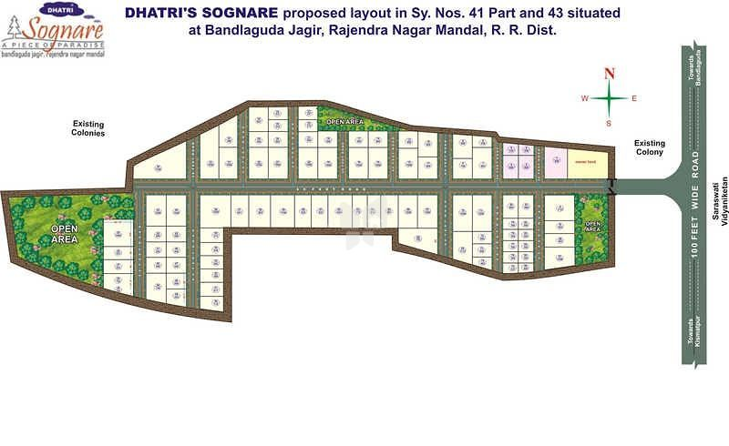 Dhaatri Sognare - Master Plans