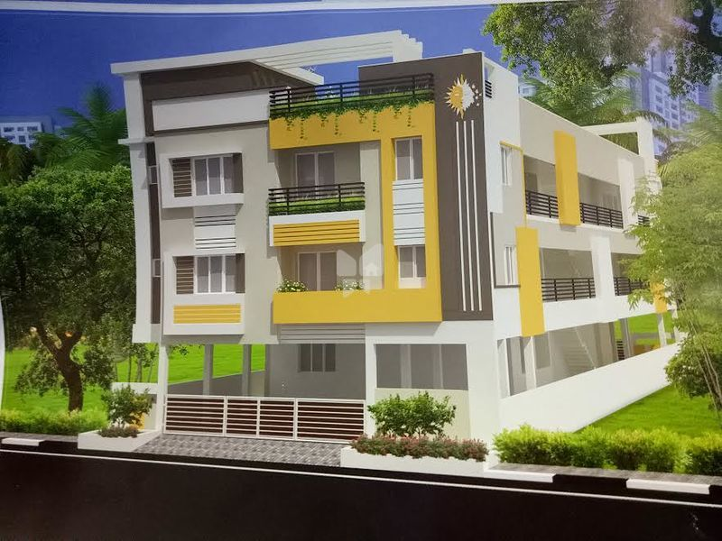 Satish A7 Flats - Elevation Photo