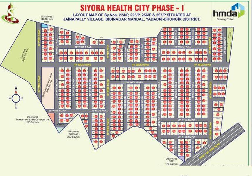 Siyora Health City Phase I - Master Plans