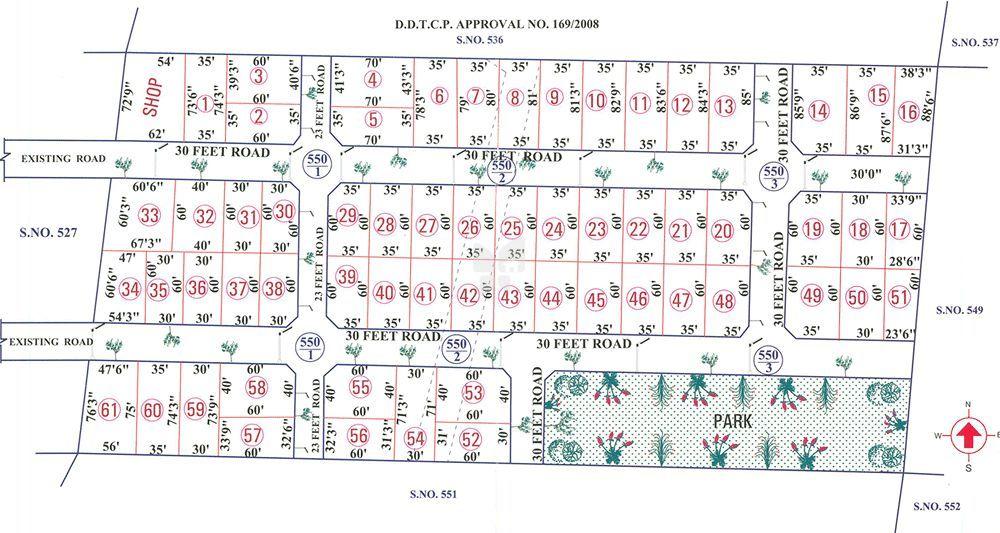 Sree Veeraraghava Avenue - Master Plans
