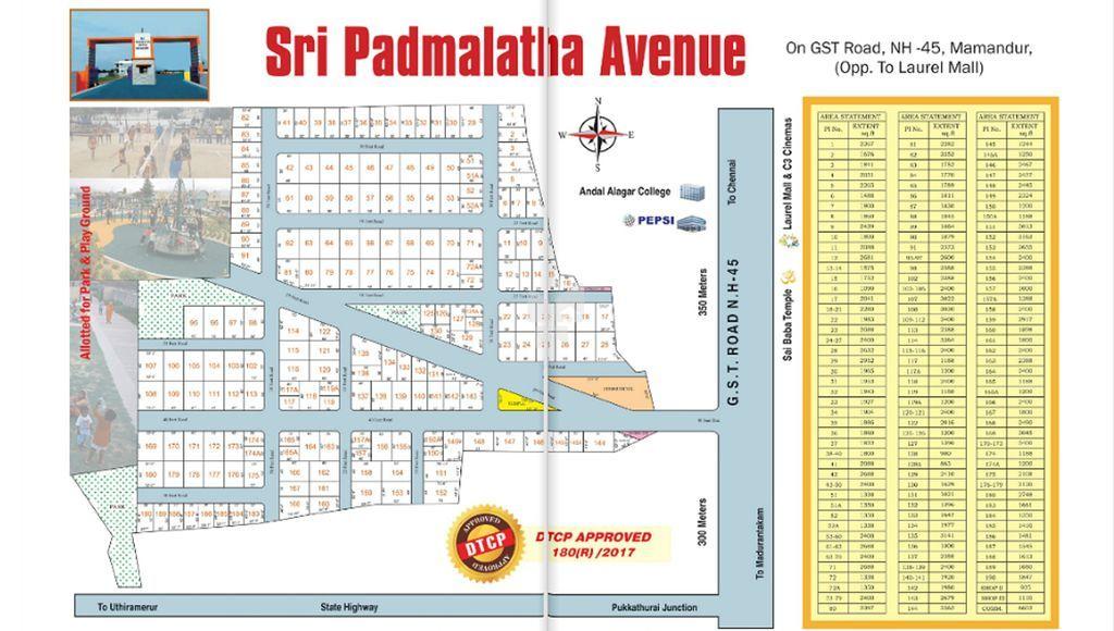 Ranga Sri Padmalatha Avenue - Master Plans