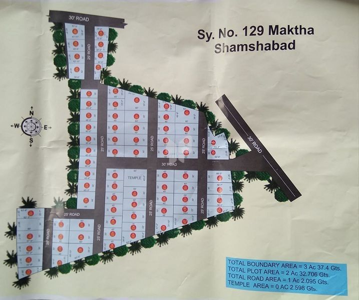 Shiva Sai Colony - Master Plans