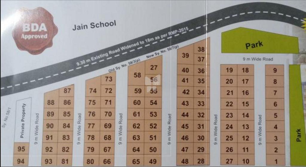 SLN Jain Residency - Master Plans
