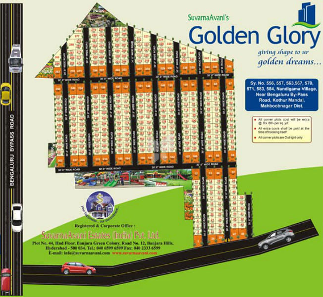SuvarnaAvani Golden Glory - Master Plans