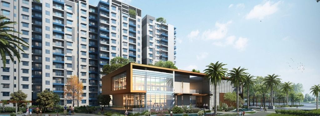 Adarsh Palm Retreat Lake Front - Project Images