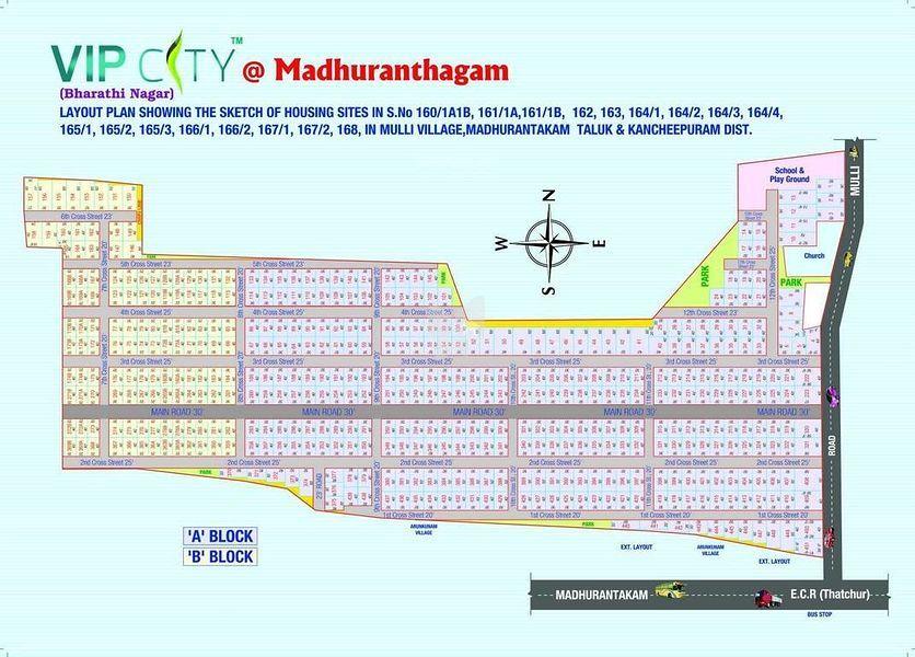 VIP Bharathi Nagar - Master Plans