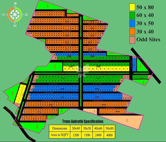 Trans Aakruthi - Master Plans