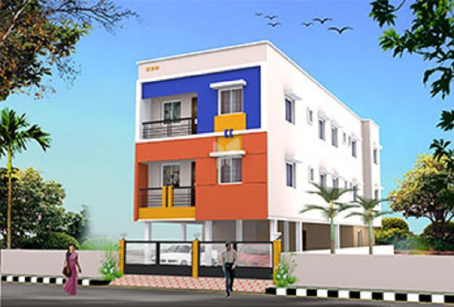 Raja Etty Annal Nagar Flats - Project Images