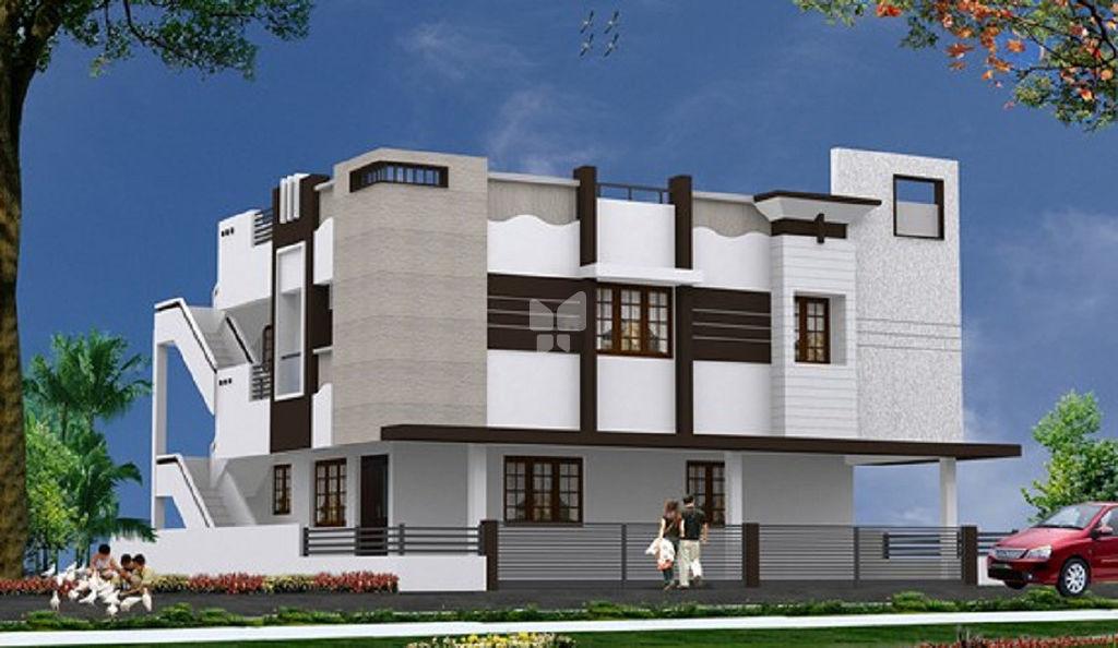 Ayyanars SPK Nagar Apartment - Elevation Photo