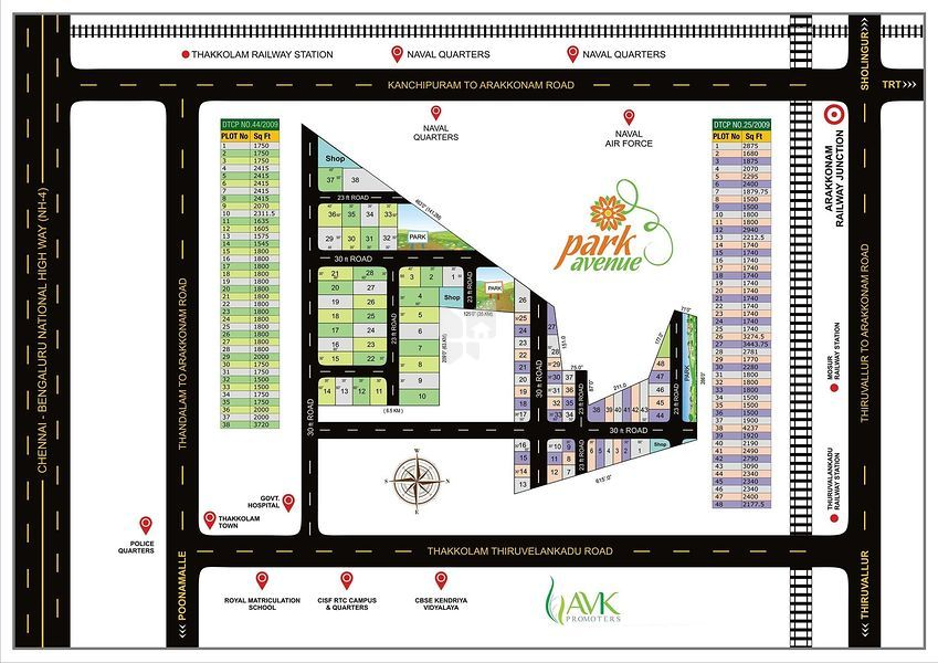 AVK Park Avenue - Master Plan