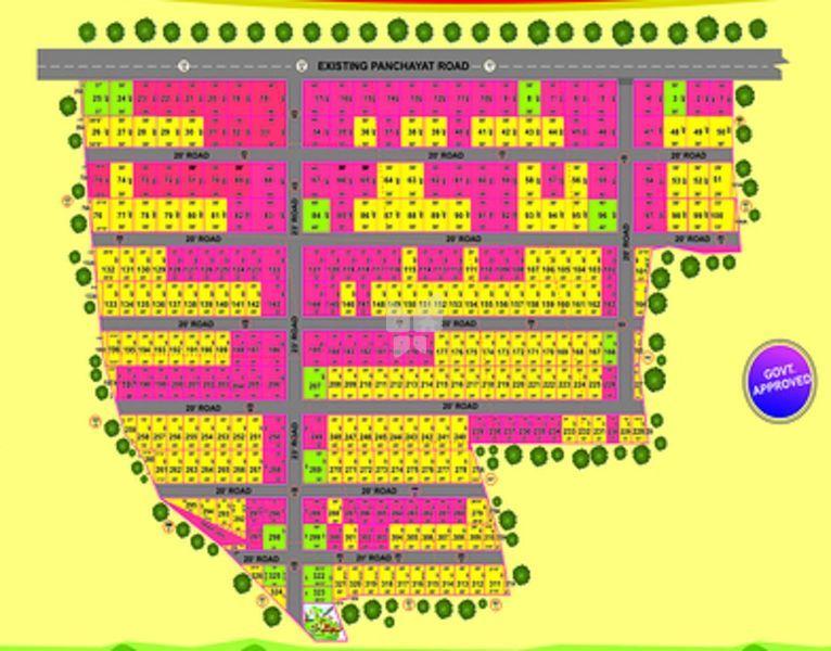 Nanda's Majestic Avenue - Master Plans
