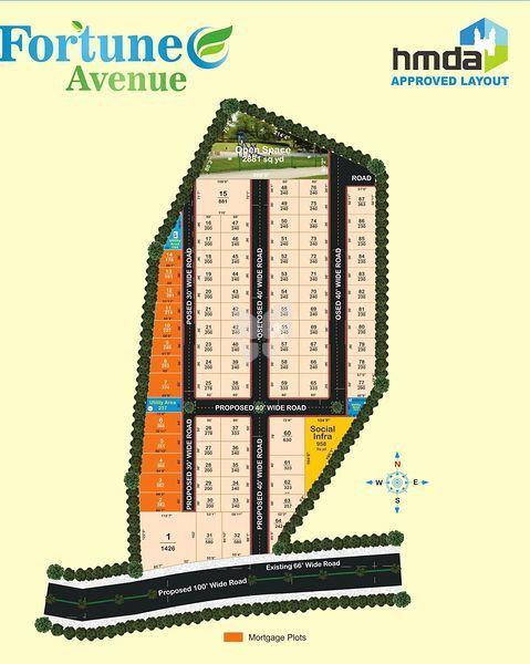 Sathguru Fortune Avenue - Master Plan