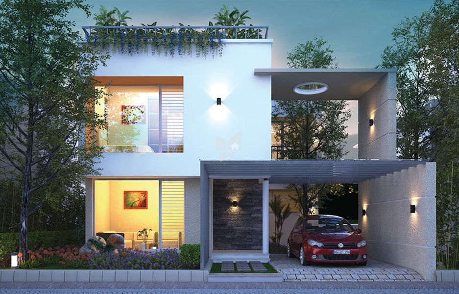 JRD Lush Villas - Elevation Photo