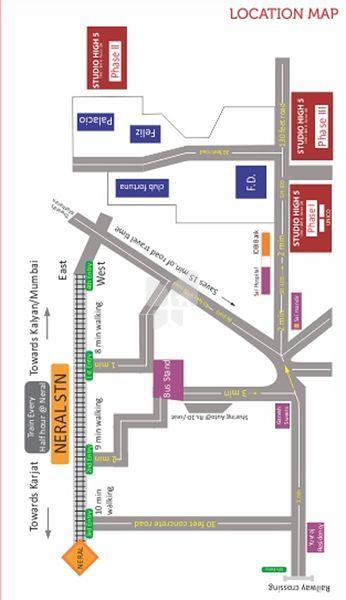 Sonu Studio High 5 Phase 3 - Location Maps