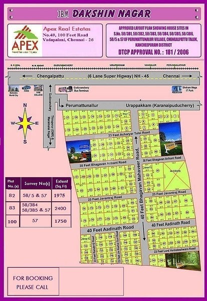 JBM Dakshin Nagar - Master Plans