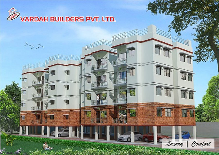 Vardah Enclave apartments - Elevation Photo