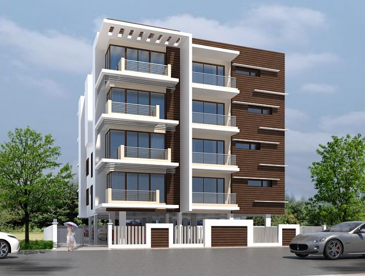Building Front Elevation Designs Chennai : Newry carnation in kilpauk chennai roofandfloor