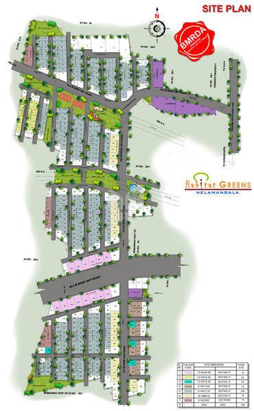 Habitat Greens - Master Plan