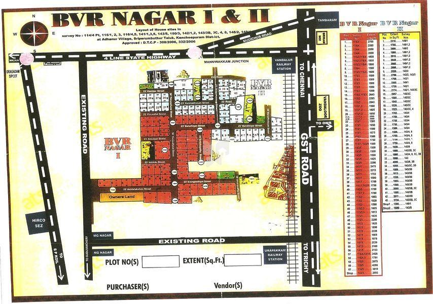 BVR Nagar - Master Plan