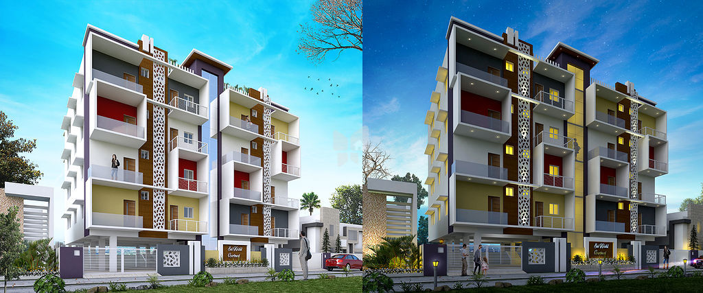 Sai Krishil Apartment - Elevation Photo