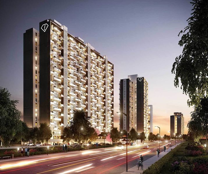 Nahar F Residences - Project Images