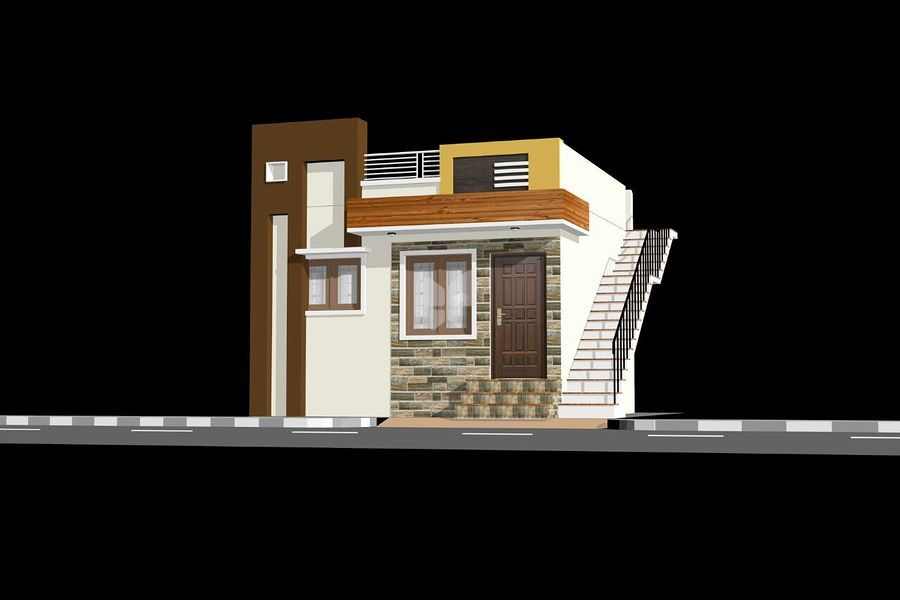 MGM Modern City House - Elevation Photo