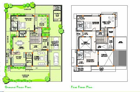 Interesting ashoka alamaison annexe bhk sqft with maison en l plan