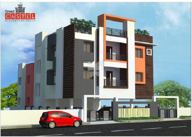 elevation jkb grand castle in madanandapuram - Jkb Homes Floor Plans