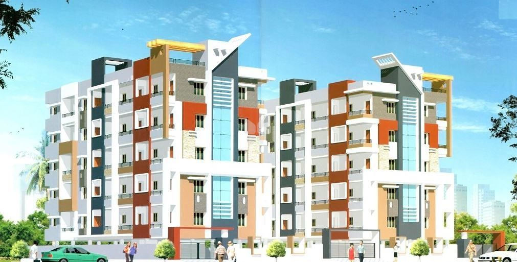 Sree Paada Shubham Residency - Elevation Photo