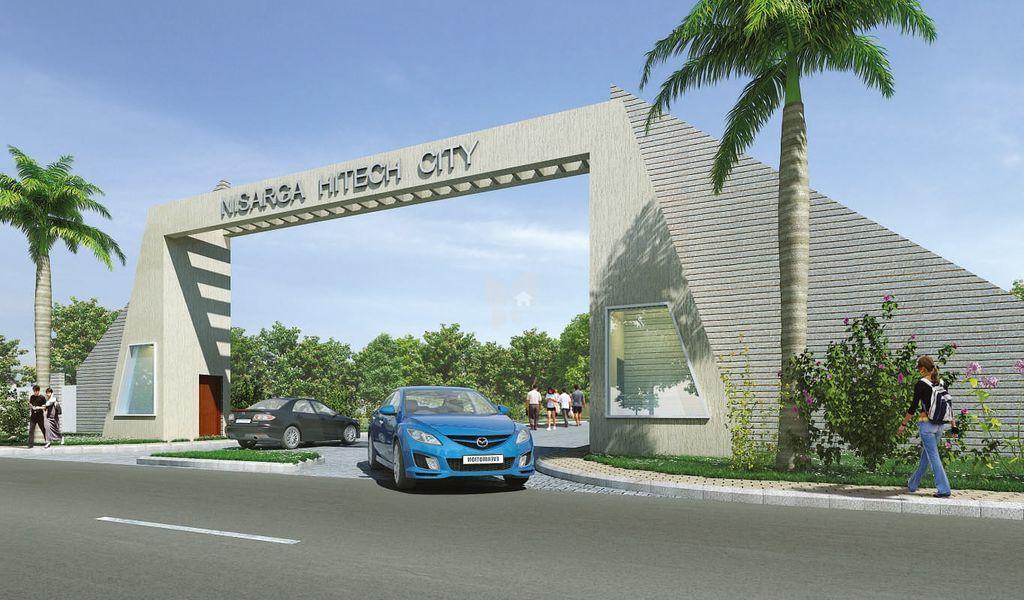 Nisarga Hi-Tech City - Elevation Photo