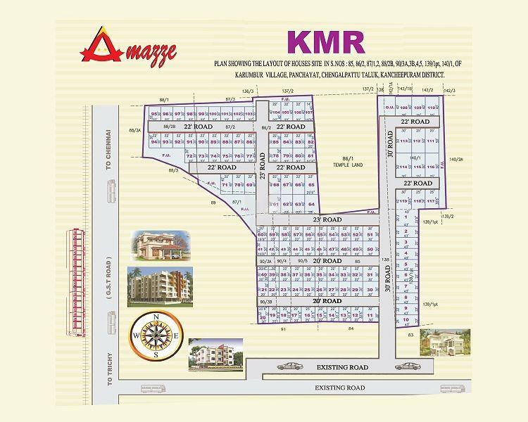Amazze KMR  Karambur - Master Plans