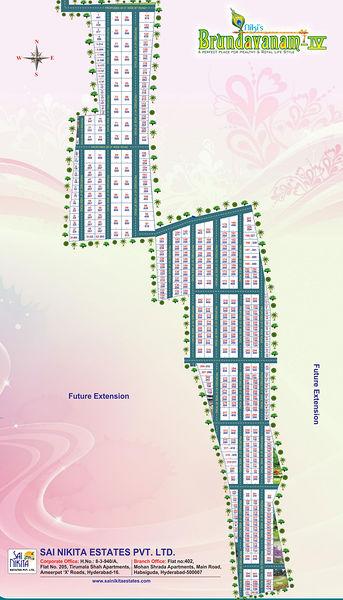 Sai Nikita Nikis Brundavanam IV - Master Plans