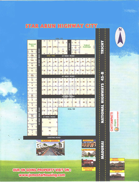 Star Arun Highway City - Master Plans