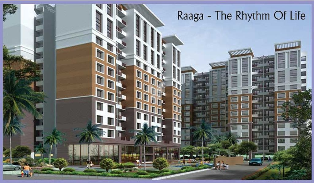 Kolte Patil Raaga - Elevation Photo