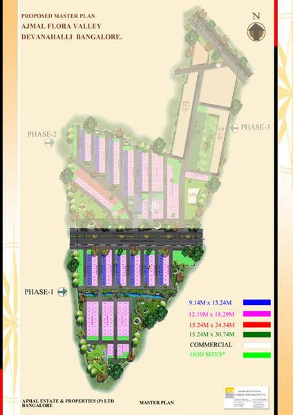 Ajmal Flora Valley - Master Plan