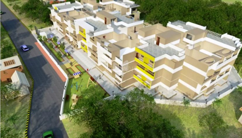 Rajwada Radhe Krishna Heights - Elevation Photo