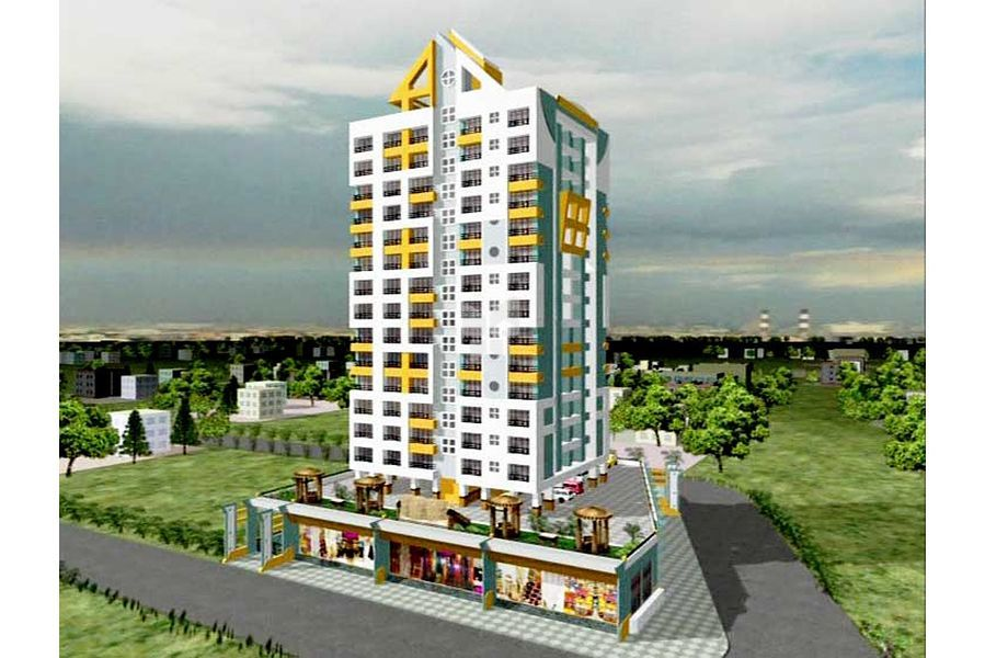 Eveready Sri Ananta Apartment - Project Images