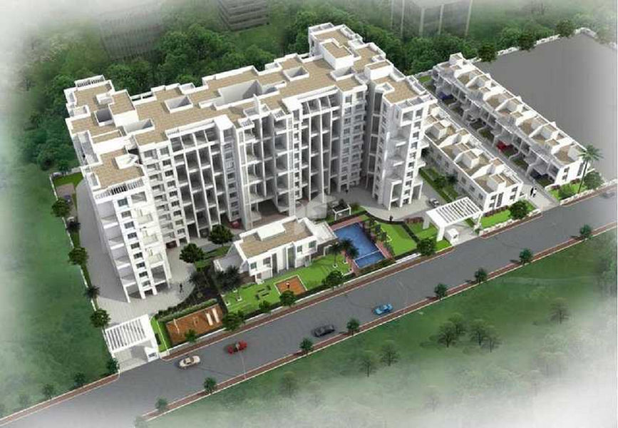 BK Jhala Manjari Greens 5 - Elevation Photo