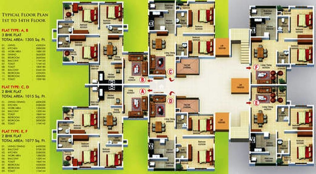 Capital Green In Manikonda Hyderabad Price Floor Plans