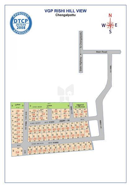 Rishi Hill View - Master Plan
