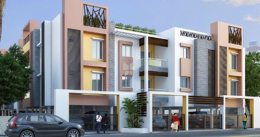 Sree Sarvamangala Apartments - Elevation Photo