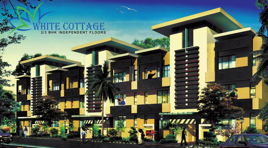 Aditya White Cottage - Project Images