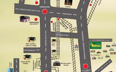 jains-mehtaa-township-in-thuraiyur-location-map-eti