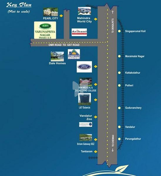 ABS Varunapriya Nagar - Location Maps